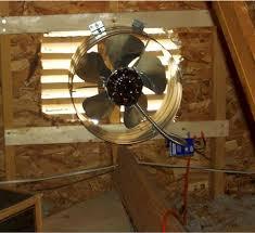 get attic fan installation in west virginia by professional attic