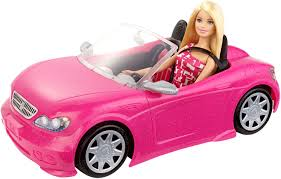 barbie red cars barbie glam convertible vehicle walmart canada