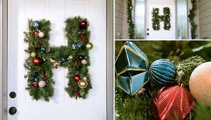 monogram wreath monogram christmas wreath