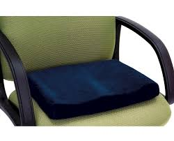 Office Chair Cushions Memory Foam Sculpted Seat Cushion Happy Living Medical Sales