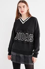 adidas sweater adidas originals adibreak v neck sweatshirt outfitters