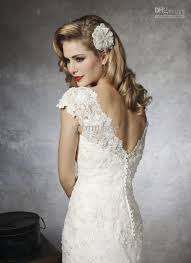 wedding dress lace back and sleeves ivory beaded lace wedding dress with sleeves and open back sang