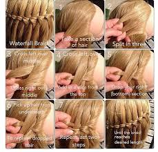 Tutorial Rambut Waterfall | waterfall braid hair pinterest hair style girls hairdos and