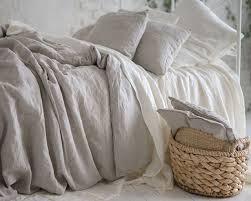 100 natural pure washed linen duvet cover french bed linen duvet