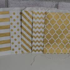 gold favor bags 25 gold shimmer medium paper favor bags from sew pretty in