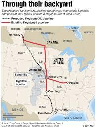 keystone xl pipeline map keystone pipeline debate the echo