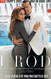 Sense Of Vanity Jlo Jennifer Lopez And A Rod On December Cover Of Vanity Fair