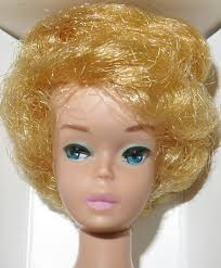 bubble cut hairstyle my vintage barbies blog barbie of the month white ginger