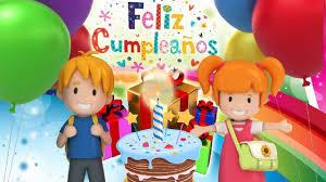 Imagenes Cumpleaños Niños | cumpleaños feliz para niños canción popular infantil youtube