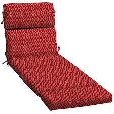 Lowes Patio Furniture Cushions - shop garden treasures red diamond ruby geometric standard patio