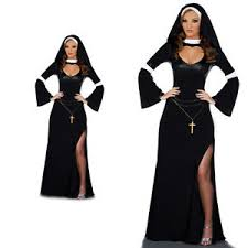 women girls nun cosplay fancy dress halloween masquerade