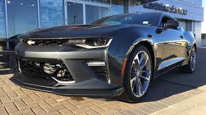 2017 chevrolet camaro 2ss for sale grey gray manual rwd