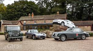 land rover vintage jaguar and land rover jump in to u0027heritage u0027 merchandise cars uk