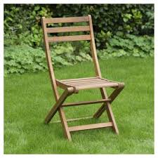 Tesco Bistro Chairs Buy Wooden Folding Garden Bistro Chair From Our Outdoor