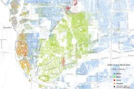 New Orleans 9th Ward Map by The Racial Dot Map U2013 Buffalo Rising