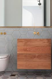 Bathroom Ideas Tiled Walls by Best 25 Hex Tile Ideas On Pinterest Subway Tile Bathrooms