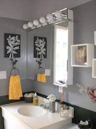 Grey And Black Bathroom Ideas Yellow And Gray Bathroom Ideas Home Design Ideas And Pictures