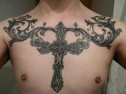 chest tattoos for men inspiration the owl and wing inspiring mode