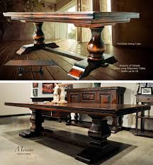 Tuscan Dining Room Extra Long Dining Room Table Sets Home Design Furniture