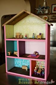 Doll House Plans Barbie Mansion by How To Build A Dollhouse Part 2 Decorating It Decorative Tape