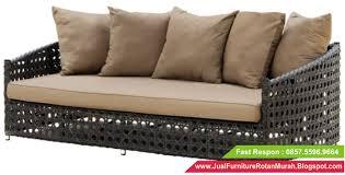 Sofa Bed Murah Jual Sofa Rotan Jual Sofa Bed Rotan Sofa Rotan Sintetis