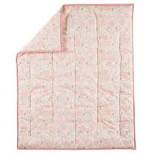 well nested baby quilt pink the land of nod