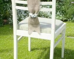 burlap chair sashes burlap chair sash etsy