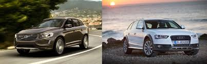 volvo xc60 vs audi a4 allroad u2013 uk side by side comparison carwow