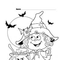 halloween colouring templates children bootsforcheaper