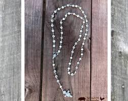 custom rosary personalized rosary etsy