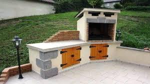 construction cuisine d été cuisine d été d angle et barbecue terminés bbq