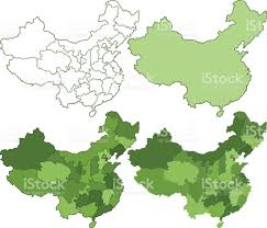 China Maps by China Maps Stock Vector Art 533906391 Istock