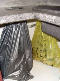 poubelle cuisine encastrable dans plan de travail promotion 10 sur vide déchets prentout noir inox ensemble