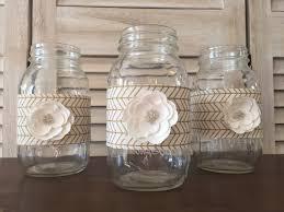 great gatsby home decor set of 3 great gatsby wedding quart sized mason jar