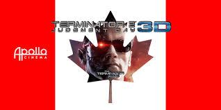 a terminator 2 3d screening in canada theterminatorfans com