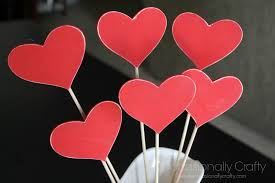 s day decoration s day decor heart skewers occasionally crafty
