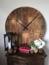 Grande Horloge Murale Carrée En Bois Vintage Achat Grosse Horloge Design Grande Horloge Murale Design Cm Pices