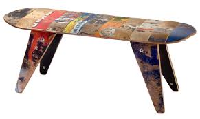 Skateboard Decorating Ideas Cool Sport Equipment Chairs Idesignarch Interior Design