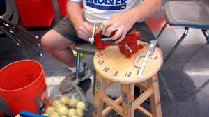 Tennis Balls For Chairs Cutting Tennis Balls Safely Youtube