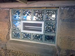 installing basement glass block windows home design wonderfull