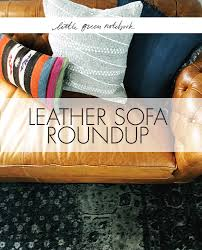 Used Leather Sofa by Leather Sofas Little Green Notebook