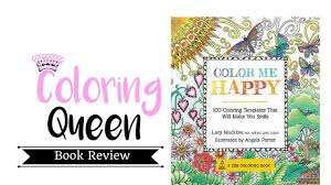 color me happy coloring book review youtube