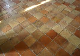 10 inch square terracotta mixed oak flooring
