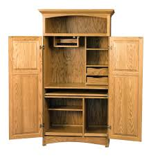 Wood Computer Armoire Best Computer Armoire