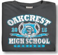 high school senior apparel design custom school spiritwear t shirts hoodies team apparel
