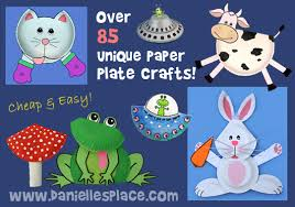 Monkey Paper Plate Craft - paper plate crafts for