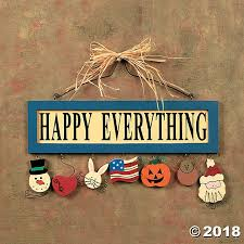happy everything sign happy everything wall sign discontinued