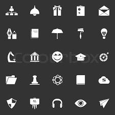 Resume Background Image Job Resume Icons On White Gray Background Stock Vector Stock