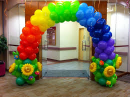 balloons decoration affordable balloon decoration package bounce house rentals in