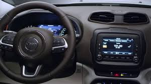 gray jeep renegade interior jeep renegade limited interior design video dailymotion